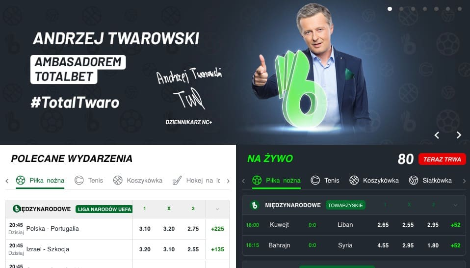 Poker u bukmachera TOTALbet?