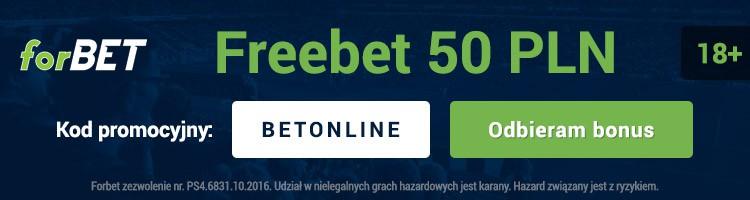 forbet freebet 50 PLN