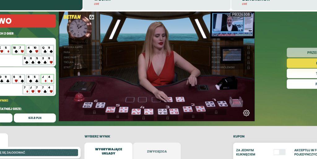 Betfan poker online