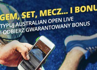 20 PLN na pierwszy dzień Australian Open 2019!