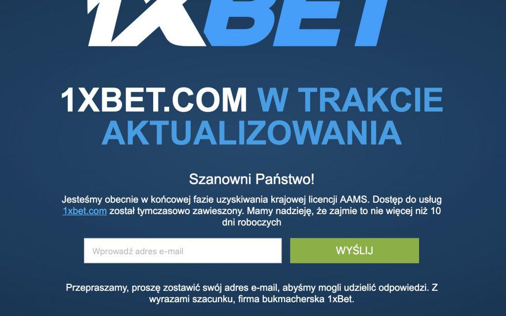 1xBet legalny w Polsce?