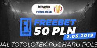 Totolotek daje 50 PLN na finał Pucharu Polski!