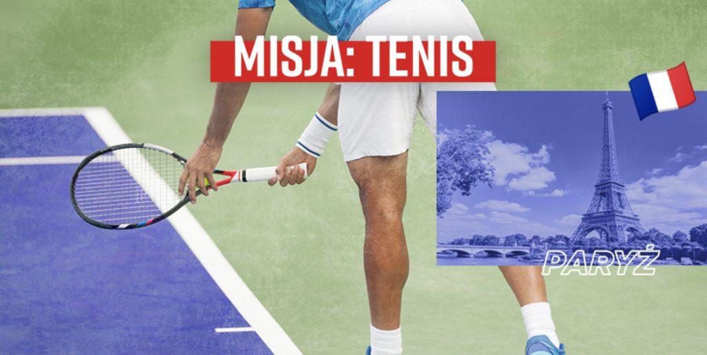 Bonusowe 40 PLN na ATP w Paryżu w Betclic Polska!