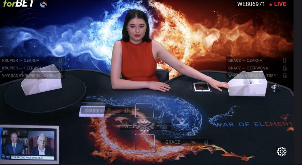 TVbet w forBET, czyli gry karciane online na pieniądze