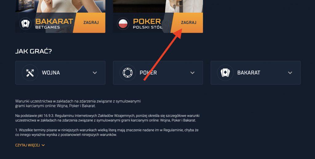 Polski poker online